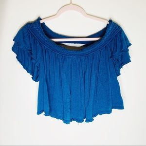 Free People Tops - Free People Santorini Off The Shoulder Top Small